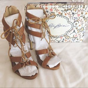 Forever Lace-Up Heels